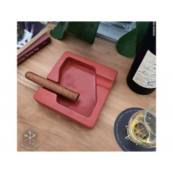Les Fines Lames Ashtray for Cigars DYAD RED