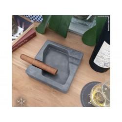 Les Fines Lames Aschenbecher für Zigarren DYAD ANTHRACITE