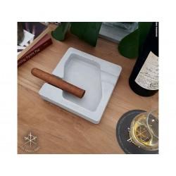 Les Fines Lames Aschenbecher für Zigarren DYAD GREY