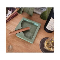 Les Fines Lames Aschenbecher für Zigarren MONAD GREEN