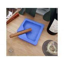 Les Fines Lames Aschenbecher für Zigarren MONAD BLUE