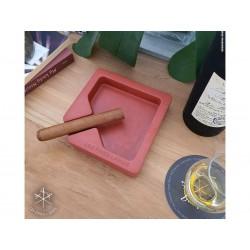 Les Fines Lames Aschenbecher für Zigarren MONAD RED
