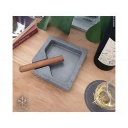 Les Fines Lames Aschenbecher für Zigarren MONAD ANTHRAZIT