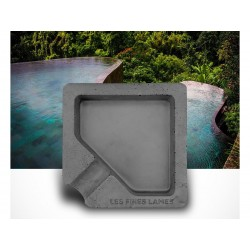 Les Fines Lames Ashtray for Cigars MONAD ANTHRACITE