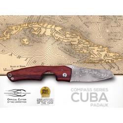 Les Fines Lames Cigar Cutter Le Petit Compass-Cuba Padouk