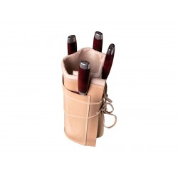 Knife holder in Morakniv leather (knives not included)