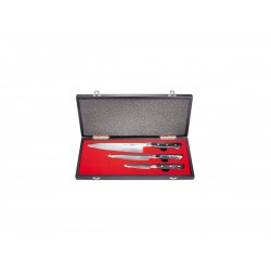 Samura PRO-S Set 3 Pezzi (Coltello da Chef – Coltello per filettare -Spelucchino) Gift Box