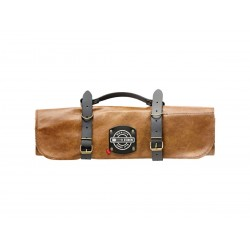 Dick brand roll-up leather knife bag (for 5 pieces)