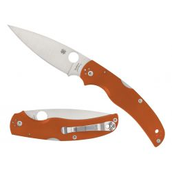 Spyderco Native Chief G10 Rex 45 Burnt Orange C244GPBORE