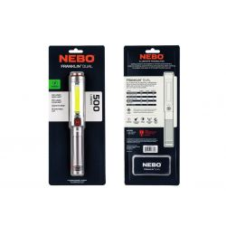 NEBO Franklin Dual Rechargeable 500 Lumens LED WLT-0022