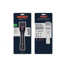NEBO Davinci Rechargeable 3500 Lumens LED FLT-0021