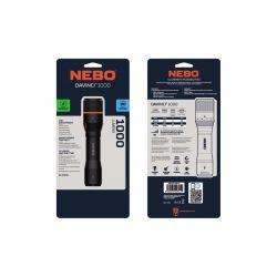 NEBO DavincI Rechargeable 1000 Lumens LED FLT-0018