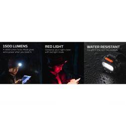 NEBO Einstein Flex Rechargeable 1500 Lumens LED HLP-0008