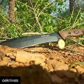 @oeknives ・・・ The SaberBack Bowie  www.knifepark.com  #camp#tool#chopper#saw #hunt #hike #survival #knife #blade#bigblade#bushcrafter #bushcraft#knifemaker#knife #blade#knifelove#knifeforsale #knifeaddiction