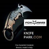 Fox knives on Knifepark.com  #foxknives#karambit#karambitknife#knife#knives#knifelover#knifelover#knifecomunity#knifedesign#knifefamily#knivesporn#knivesdaily#knifesforsale#knivesofinstagram#militaryknives#tacticalknives#tacticalknife#tactical#knifepark