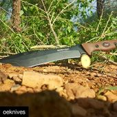 @oeknives ・・・ The SaberBack Bowie  www.knifepark.com  #camp#tool#chopper#saw #hunt #hike #survival #knife #blade#bigblade#bushcrafter #bushcraft#knifemaker#knife #blade#knifelove#knifeforsale #knifeaddiction